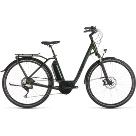 Cube Town Sport Hybrid EXC 500 Easy Entry Green'n'Black